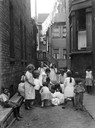 Children at Play in Chicago Alley