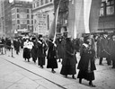 Suffragists Picketing on Fifth Avenue