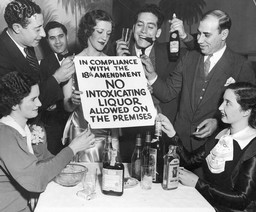 Revelers Celebrate the End of Prohibition