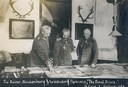 The Kaiser, Hindenburg, and Ludendorff planning 