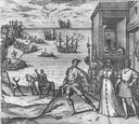 Columbus Departs Spain