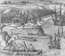 Fourth Voyage of Columbus; Battle in Jamaica against Francisco Poraz