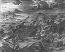 Captain John Smith Taken Prisoner by the French during a Storm at Sea