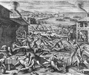 Algonquian Indians massacre Virginia settlers in 1622