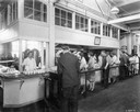 Hamilton Twine Mills Employees in Cafeteria