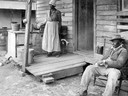 Former Slave Sitting on Porch
