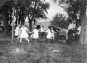 School Children Folk Dancing