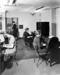 IH Teletype Room