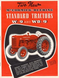 McCormick - Deering W-9 and WD-9 tractors
