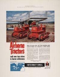 International Crawler Tractor Advertising Poster