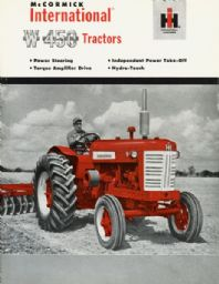 International W-450 Tractor Brochure