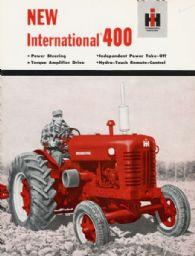 International 400 Tractor Brochure