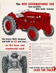International 300 Tractor Advertisement