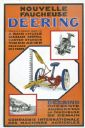 French-Language Deering Mower Poster