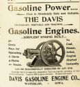 Davis Gasoline Engine