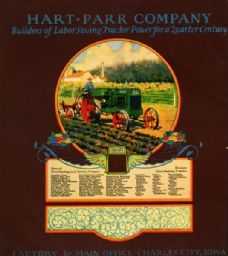 Hart-Parr Company Advertisement