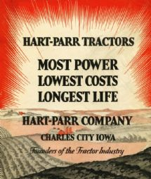 Hart-Parr Tractors Advertisement