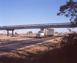Truck Driving Down Texas Highway