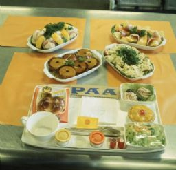 Food Tray for Pan American World Airways Boeing 747