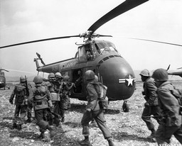 Korean War Helicopter