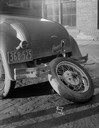 Damaged Ford Coupe