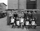 Boy Scouts with Christmas Seal Posters