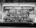 Calvert Window,  Madison Liquor and Cigar Store