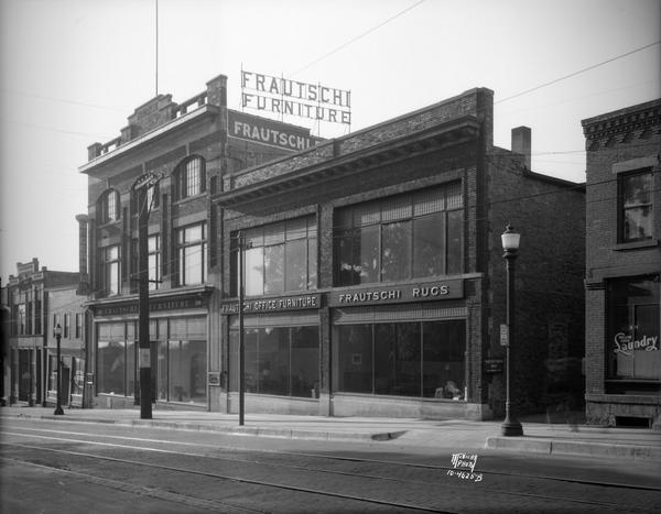 Frautschi furniture store photograph wisconsin for Furniture history society