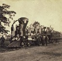 Early Chicago & Northwestern Locomotive