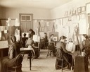 Art class at the State School for the Deaf