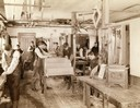 Woodworking Class at the State School for the Deaf