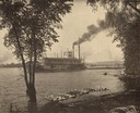 Steamer E. Rutledge in Beef Slough