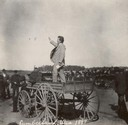 Robert M. La Follette, Sr. Speaking from Wagon
