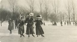 Women Ice Skating