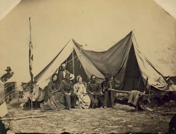 Camp of the 2nd Wisconsin