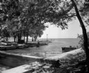 Tenney Park Breakwater Under Construction