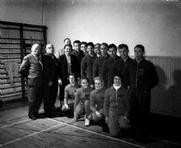 West German Gymnasts Team