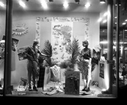 Baron's Department Store Window Display