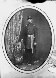 Copy Photograph of Man in Military Uniform