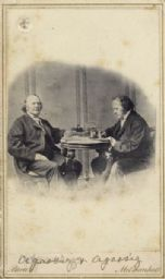 Portrait of Agassiz and Agassiz