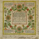 Swiss Baptismal Certificate