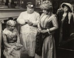 Scene Still with Mary Maurice, John Bunny, Julia Swayne Gordon, and Helen Gardner