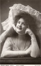Portrait of a young Billie Burke