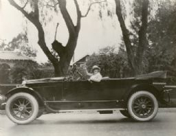 Mary Miles Minter in an Automobile