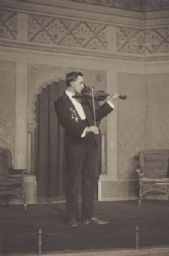 W. Lambert Clark, as a Violinist