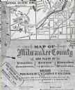 Map of Milwaukee County
