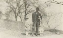 Booker T. Washington with Dick and Jenk Lloyd Jones