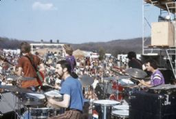 Grateful Dead Performing on Stage