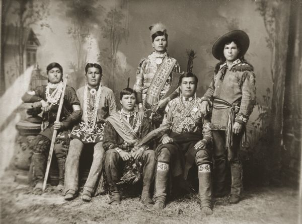 Innovative   Historic Photos Of The Life And Culture Winnebago Indian Tribe