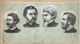 General McClellan and His Staff